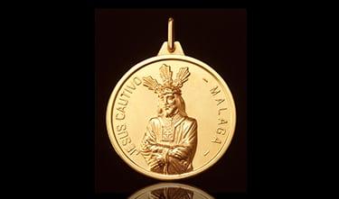 Medalla Cautivo Málaga