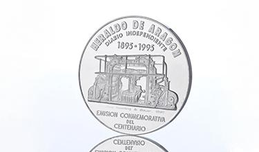 Moneda Heraldo de Aragón