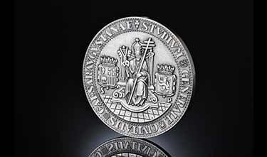 Monedas conmemorativas universidad de Zaragoza