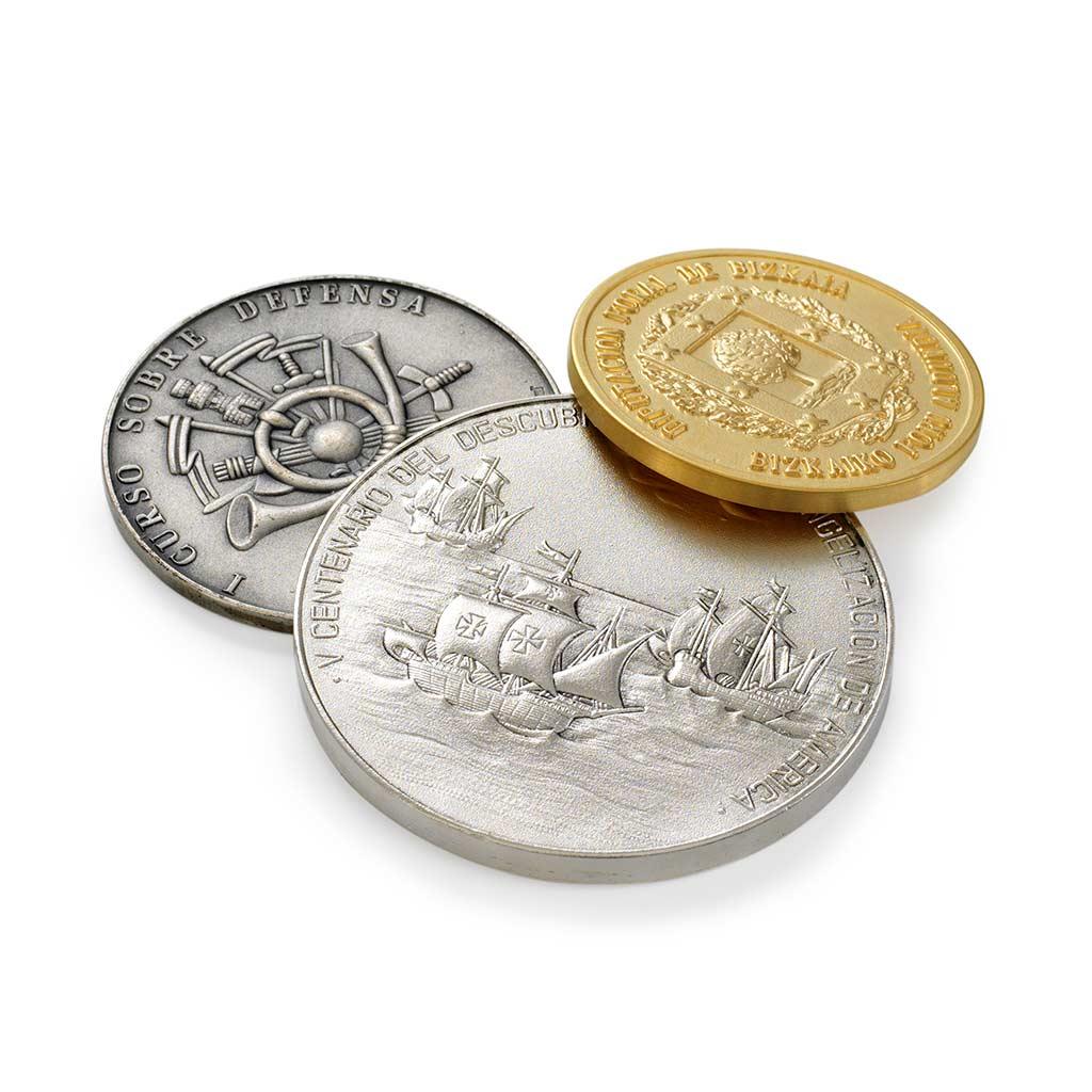 Monedas conmemorativas - regalos empresa