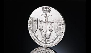 Monedas conmemorativas Congreso de abogacía